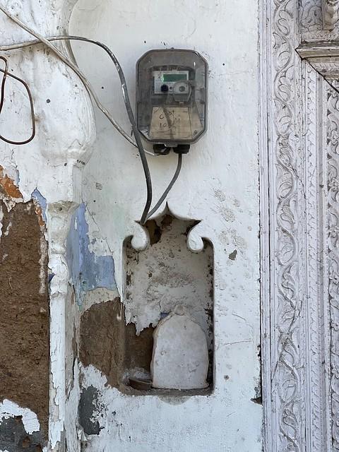 City Landmark - Old Doorway, Sadar Bazar, GurgaonG_0465
