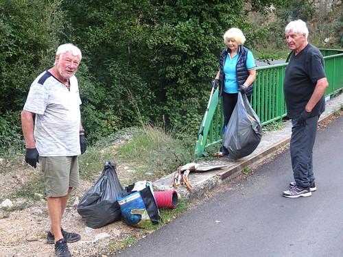Pont I Scarpi/Prune : les déchets s'accumulent