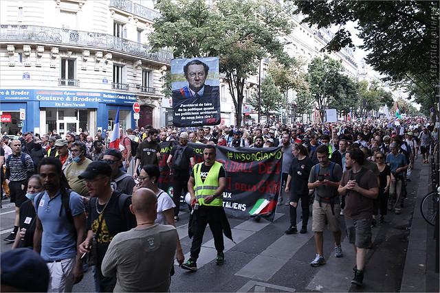 Manifestation contre le pass Sanitaire et l'obligation Vaccinale → Acte 12 à Paris le 25 septembre 2021 IMG210925_006_©2021 | Fichier Flickr 1000x667Px Fichier d'impression 5610x3740Px-300dpi