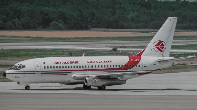 7T-VEO Air Algérie Boeing 737-2D6