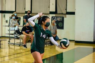 Girls' Varsity Volleyball Vs. Sanford
