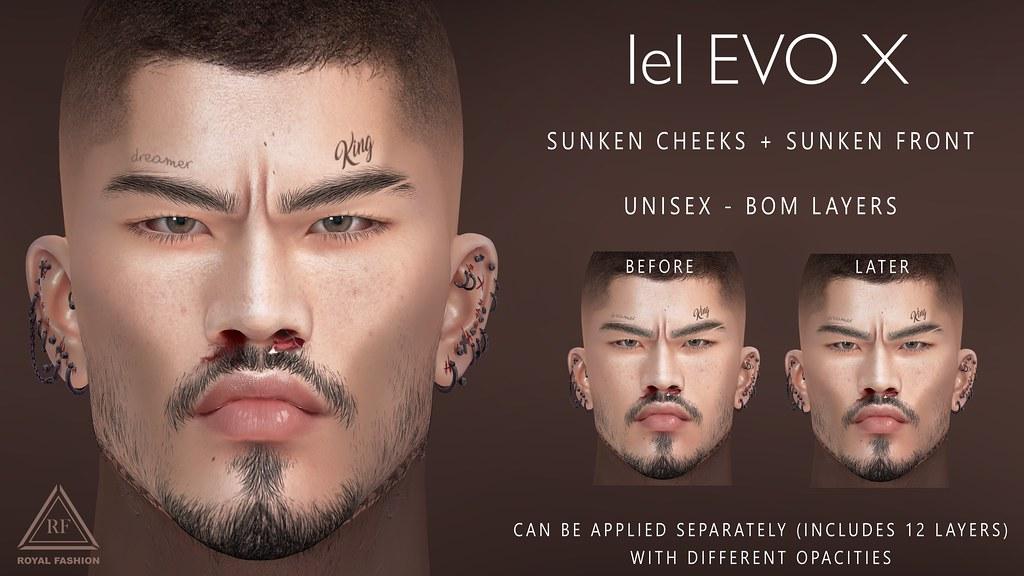 [ Royal Fashion ] Sunken cheeks + Sunken Front