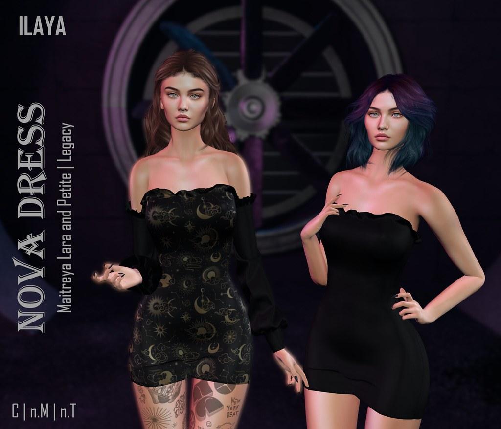 [ILAYA] Nova Dress