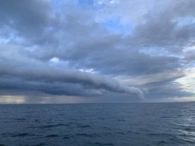 Arcus, nuages en rouleau