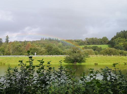 Afternoon rainbow