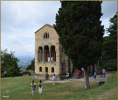 Santa María del Naranco (Oviedo, Asturias, España, 25-7-2021)