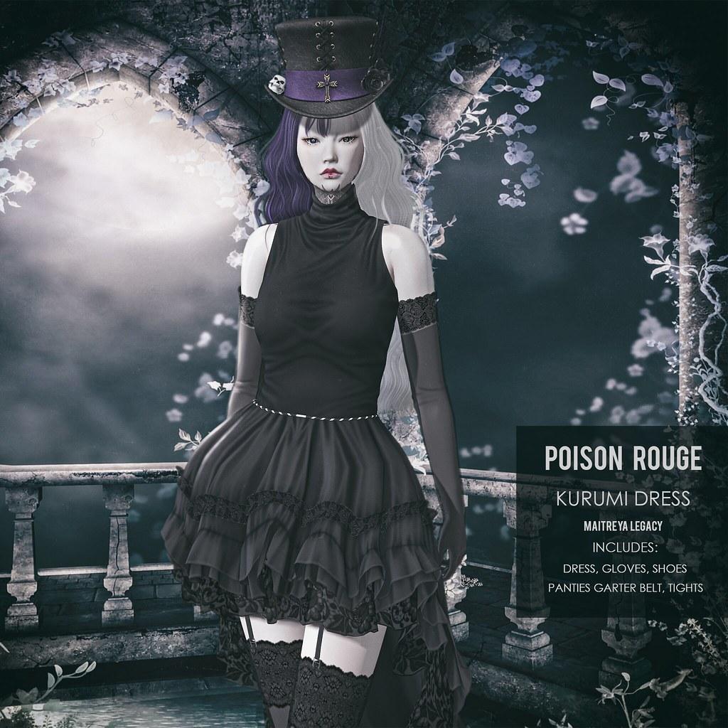 POISON ROUGE KURUMI DRESS @NEO JAPAN EVENT