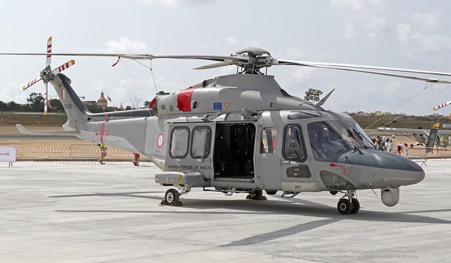 AS1630 LMML 25-09-2021 Malta - Armed Forces Agusta-Westland AW-139 CN 31625