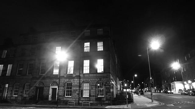 New Town At Night