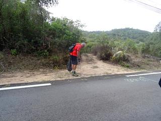 Route de Taddu Russu : un nettoyeur anonyme !