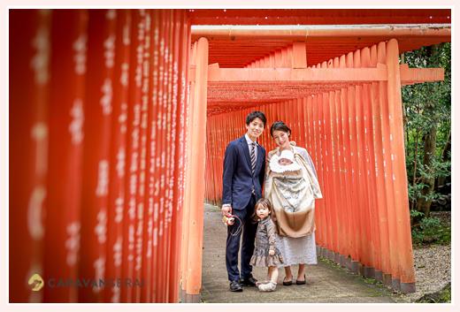 愛知県瀬戸市のお宮参りの定番の場所は深川神社