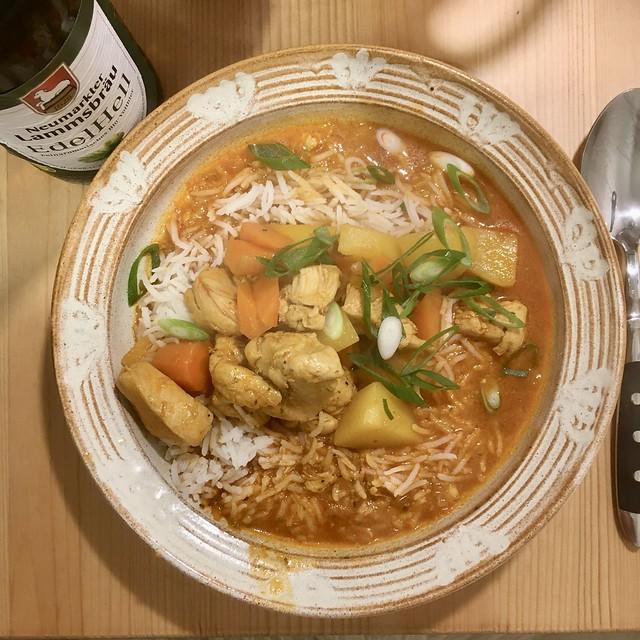 Dak Dori Tang - Korean Spicy Chicken Stew