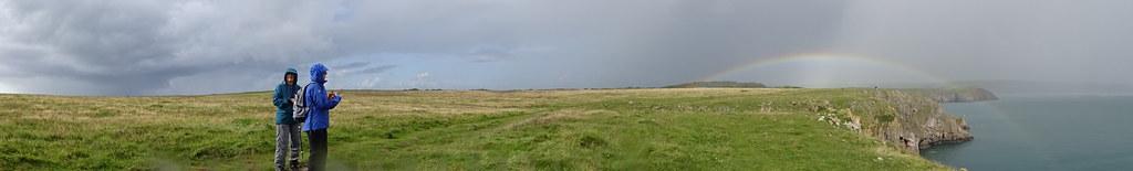 Panorama: Hazel, Steffi, Rainbow
