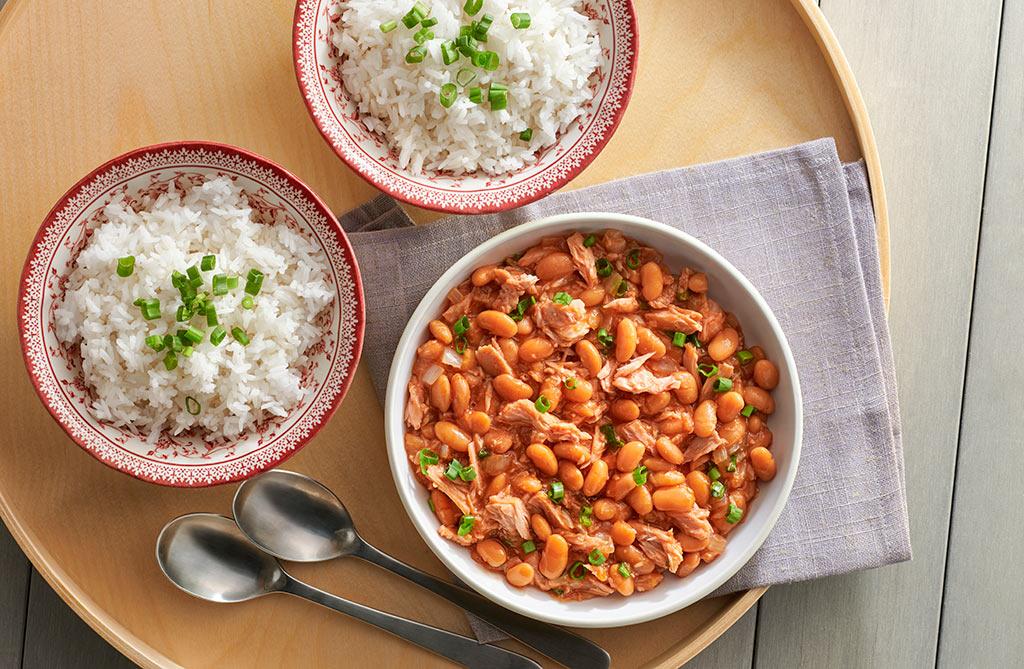 tuna-with-baked-bean