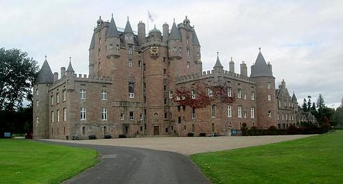 Glamis Castle stitch, Angus, Scotland