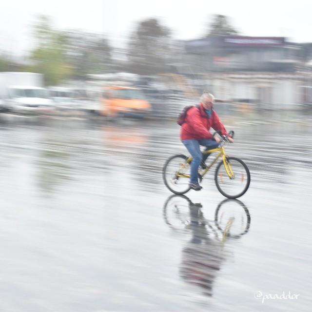 Zurich in the rain.