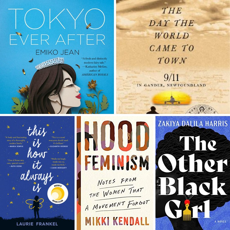 Sept 2021 books