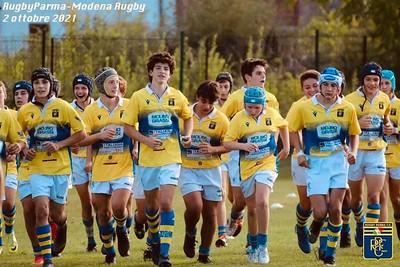 2021/22 - UNDER 15 - RPFC vs Modena 02/10/21