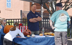 State Rep. Craig Fishbein talks with constituents during the annual Celebrate Wallingford event on Saturday, October 2nd.