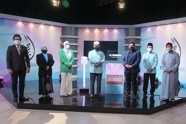 Selesai Majlis Pelancaran Kempen Maulidur Rasul Dan Wajah Baharu Studio Tv Alhijrah