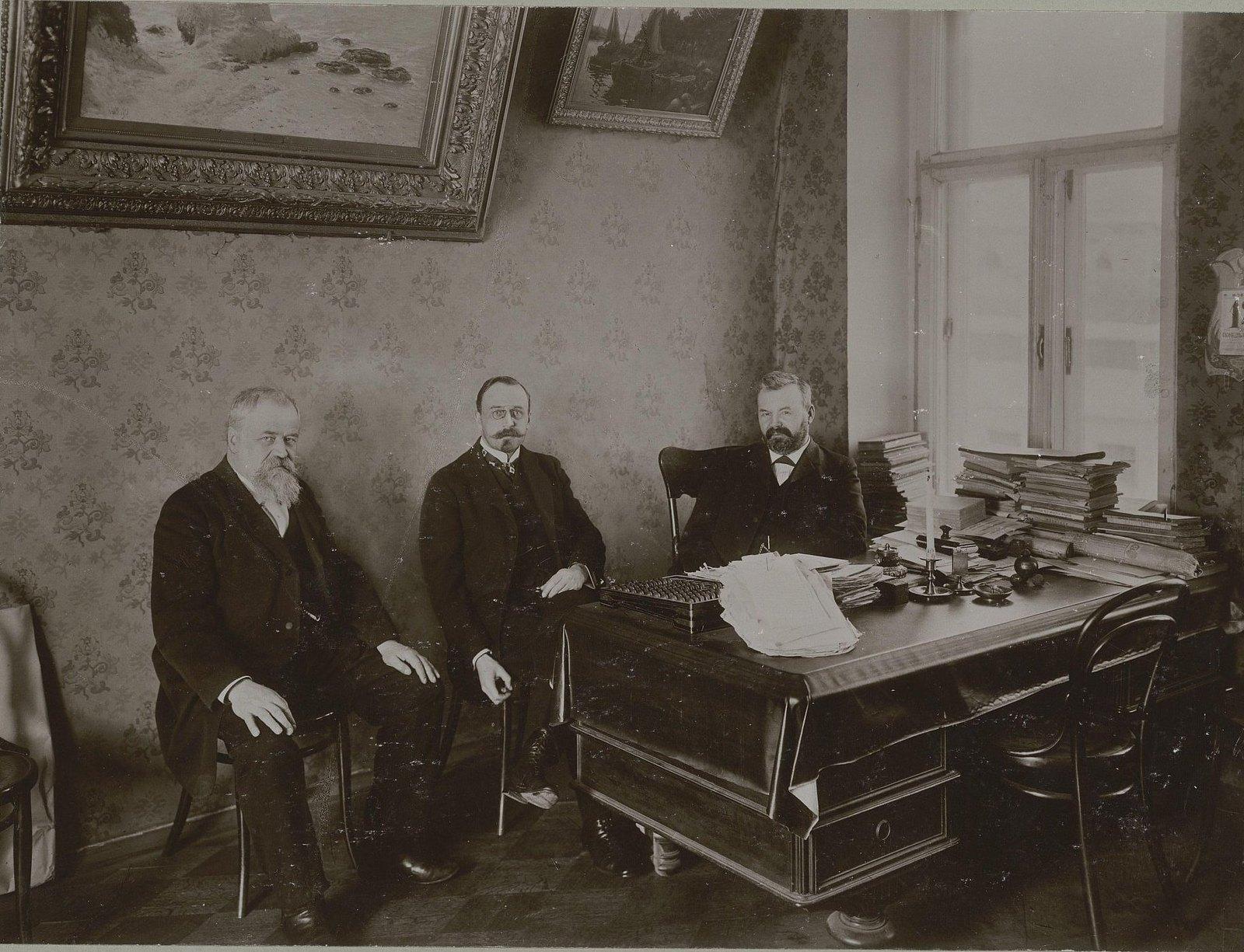 23. 1907. Кабинет Ивана Сытина в типографии