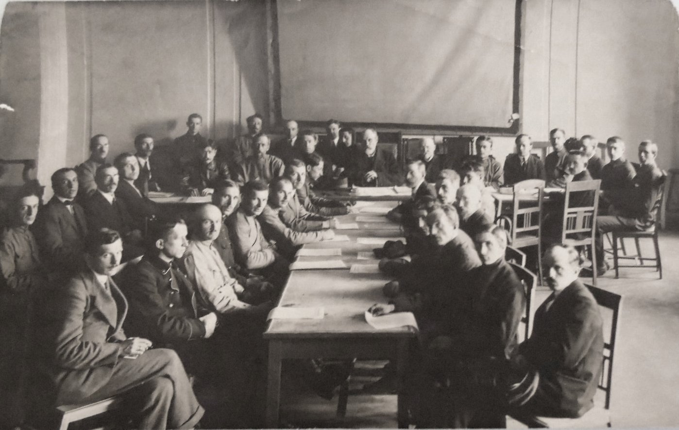 16. 1900-е. Сотрудники издательства «Русское слово»