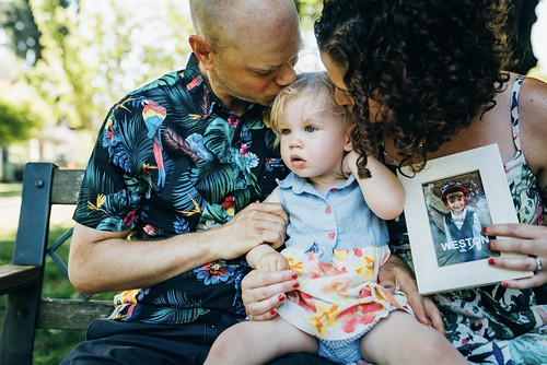 Mallory Manley and Glen Schwazfeld family