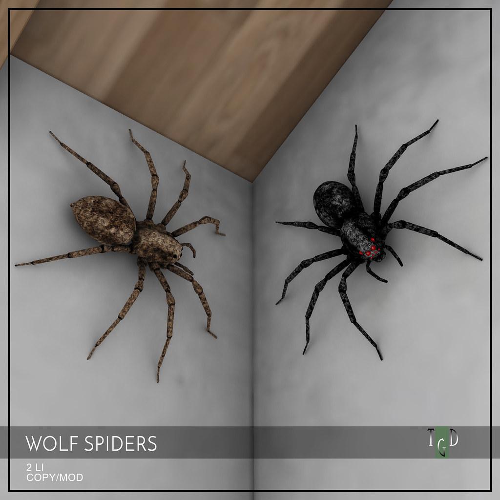 Wolf Spider Halloween Decor
