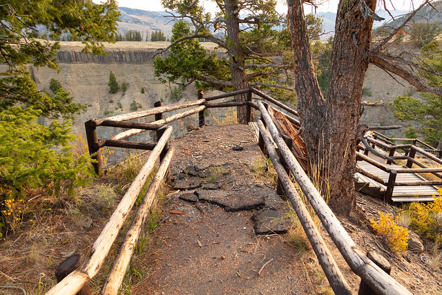Calcite Springs Overlook Trail: current condition
