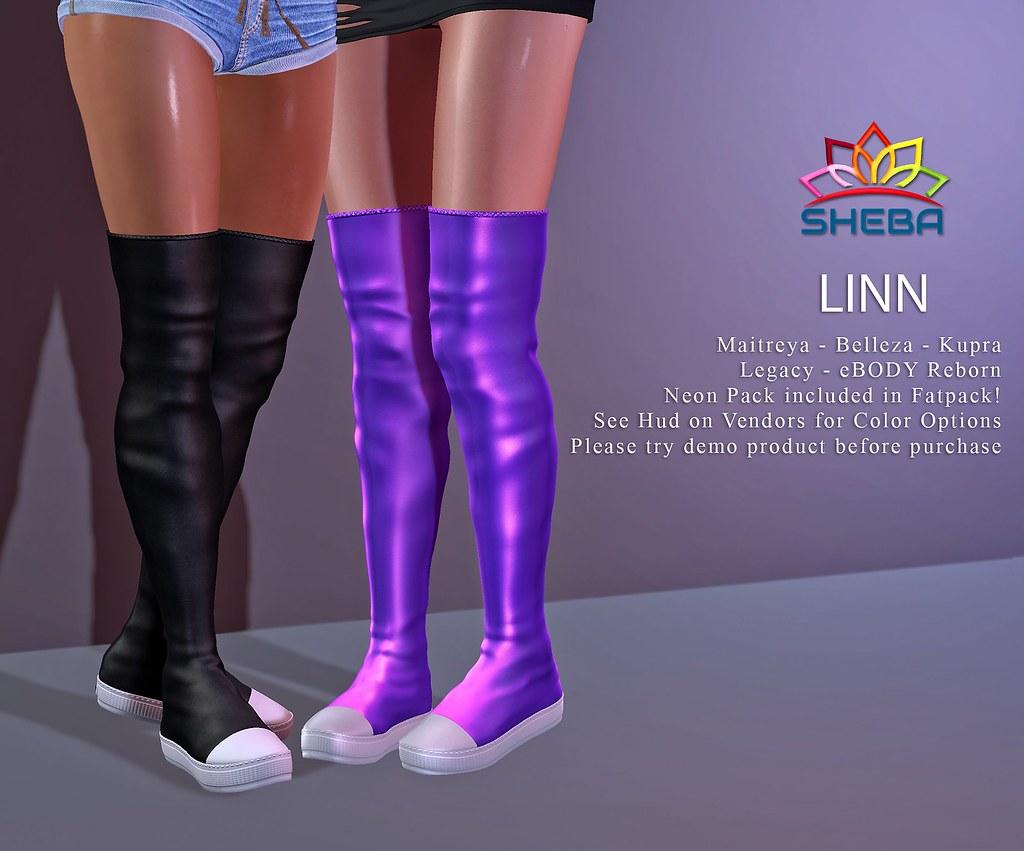 [Sheba] Linn Sneaker Boots