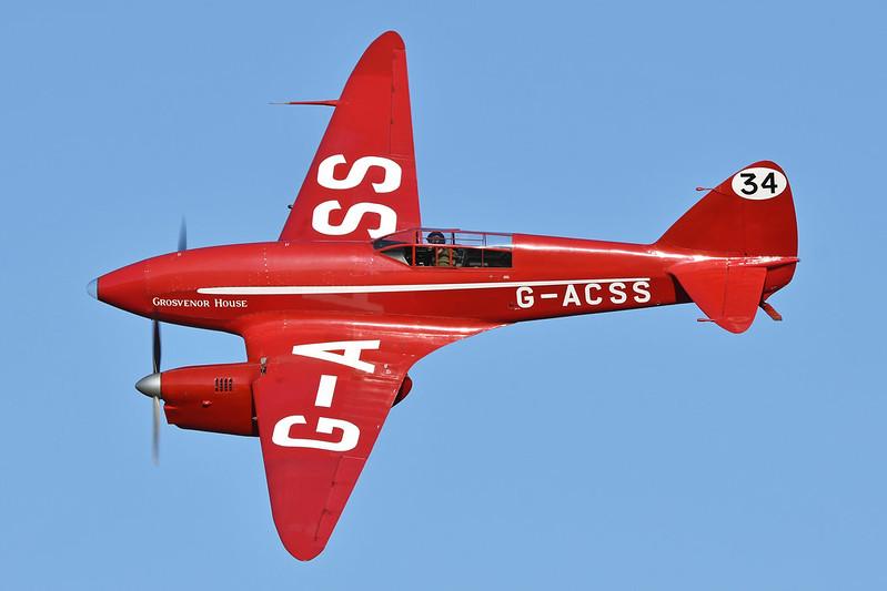 "de Havilland DH88 Comet 'G-ACSS' ""Grosvenor House"""