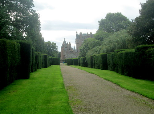 Glamis Castle,from east, Angus, Scotland