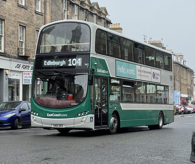East Coast Buses 942 SN10 DKO (09-09-2021)