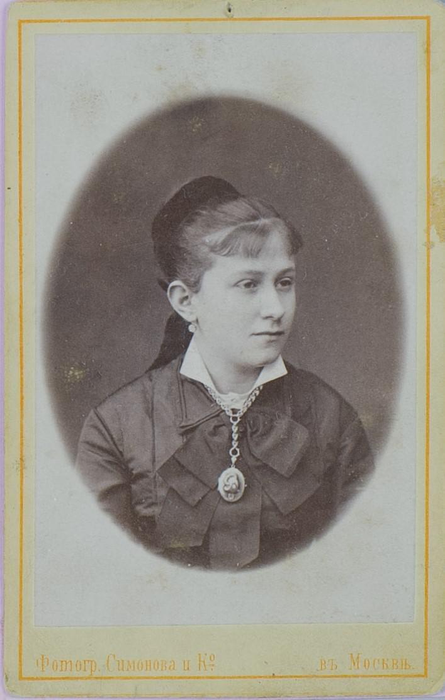 02. 1870-е. Сытина Е.И. (жена) в молодости