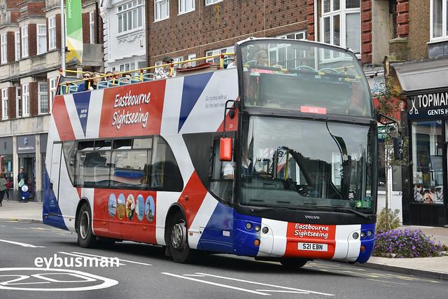 Seven Sisters Bus & Coach Ringmer 121, S21EBN.