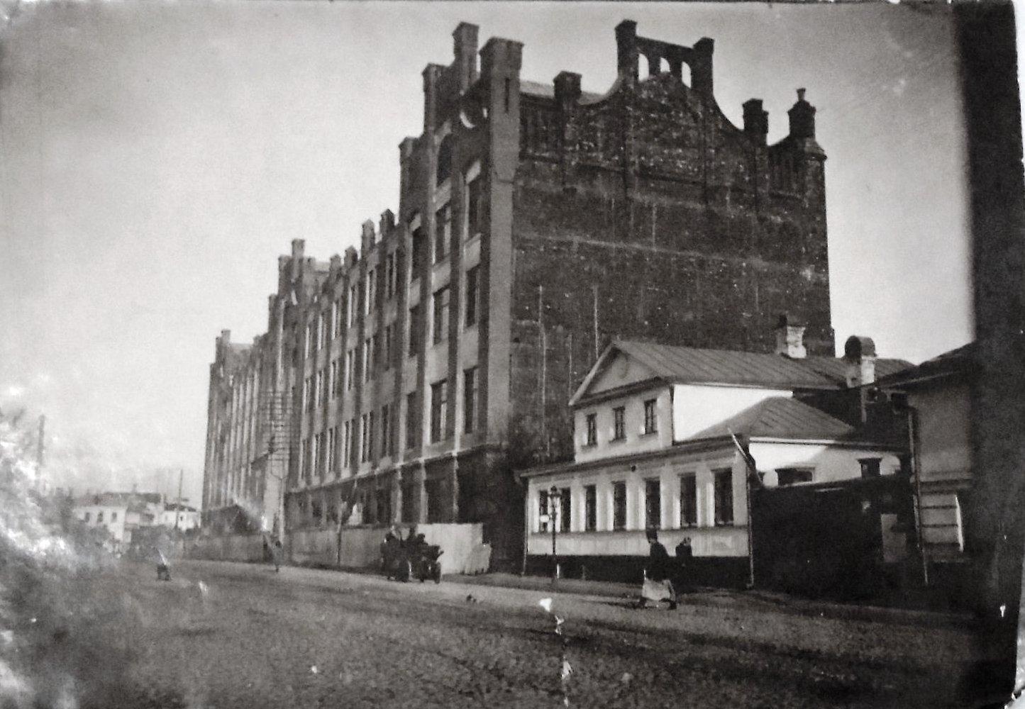 18. 1900-е. Типография на Пятницкой (до пожара)