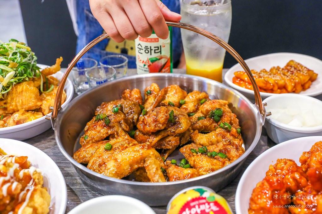 搬家新地址推薦!內用醃蘿蔔免費續,韓式哇樂全雞翅超好吃,知名韓式炸雞推薦起家雞