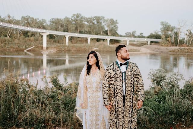 TAJIK BRIDE AND GROOM