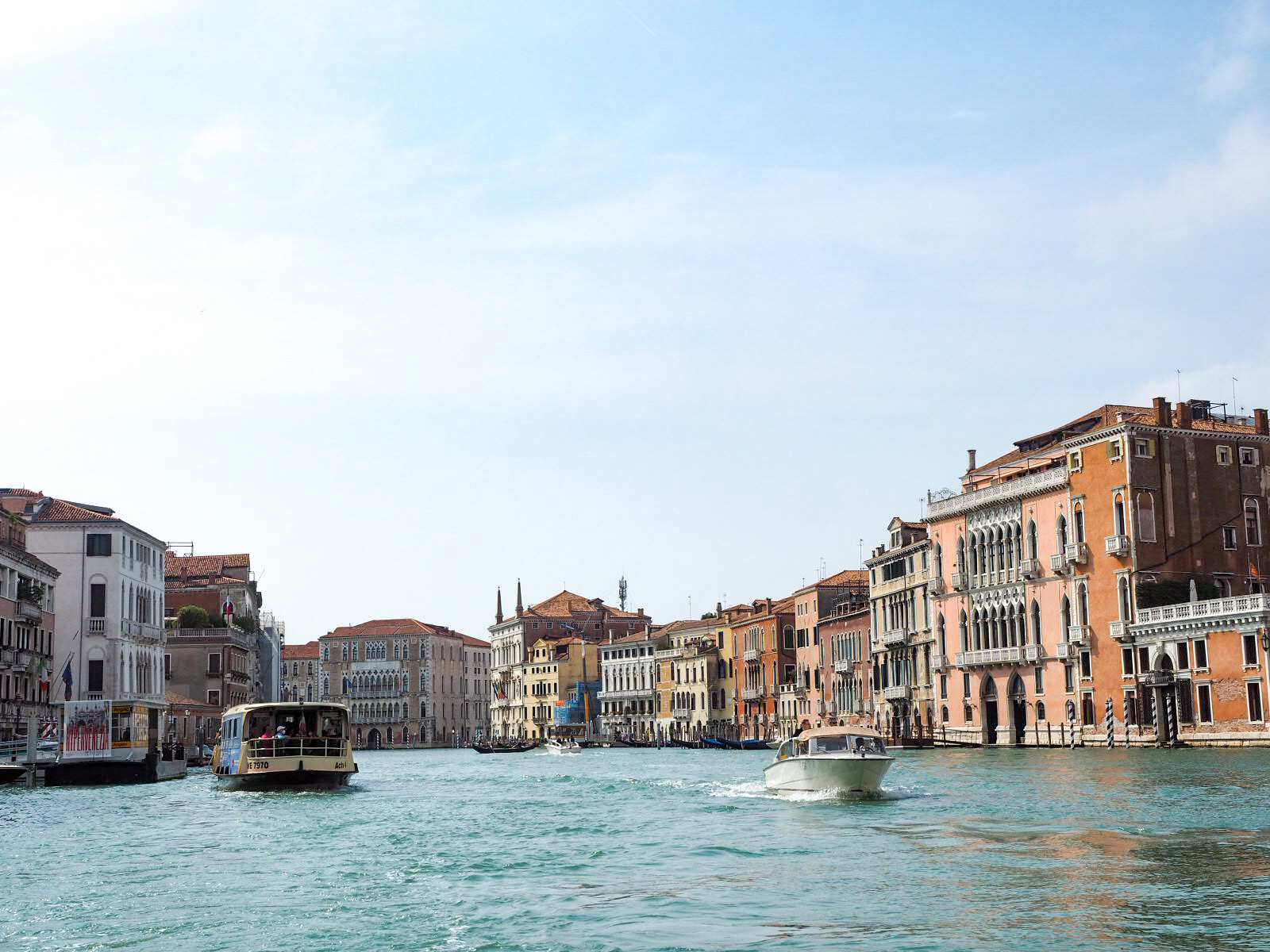 Canal Grande vaporetto no 1