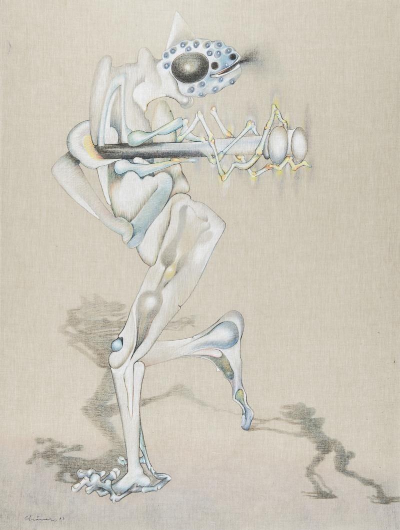 Gerardo Chavez Lopez - Le Chasseur Chassé, 1973