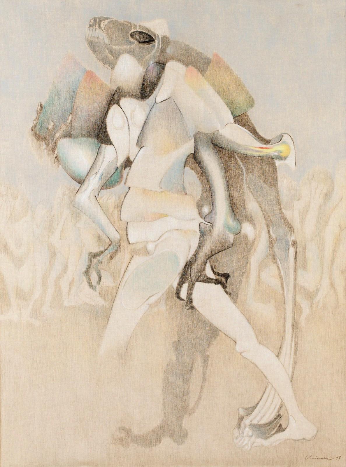 Gerardo Chavez Lopez - He Tilts Off His First Self, 1974