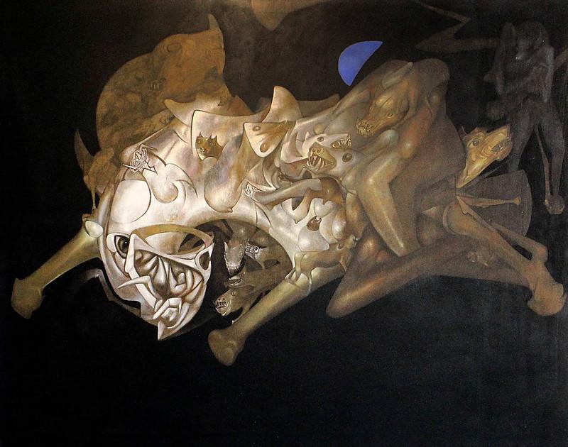 Gerardo Chavez Lopez - Midnight Animal, 1980