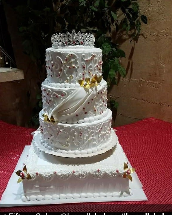 Cake by Howell's Bakery