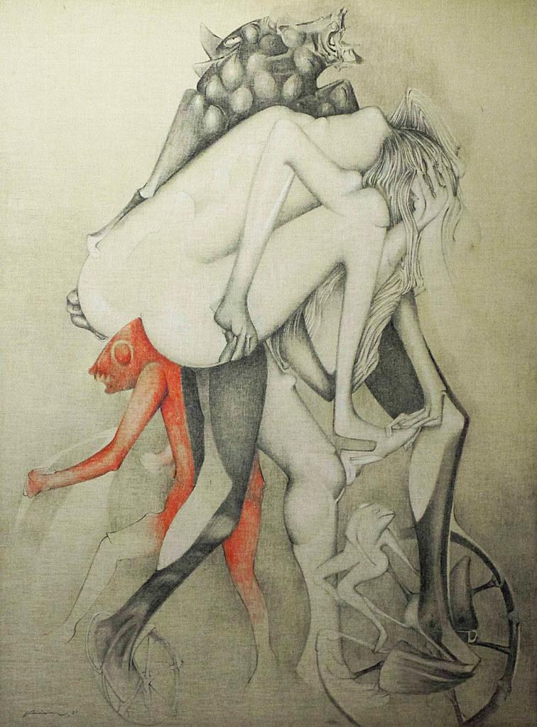 Gerardo Chavez Lopez - Rapture I, 1981