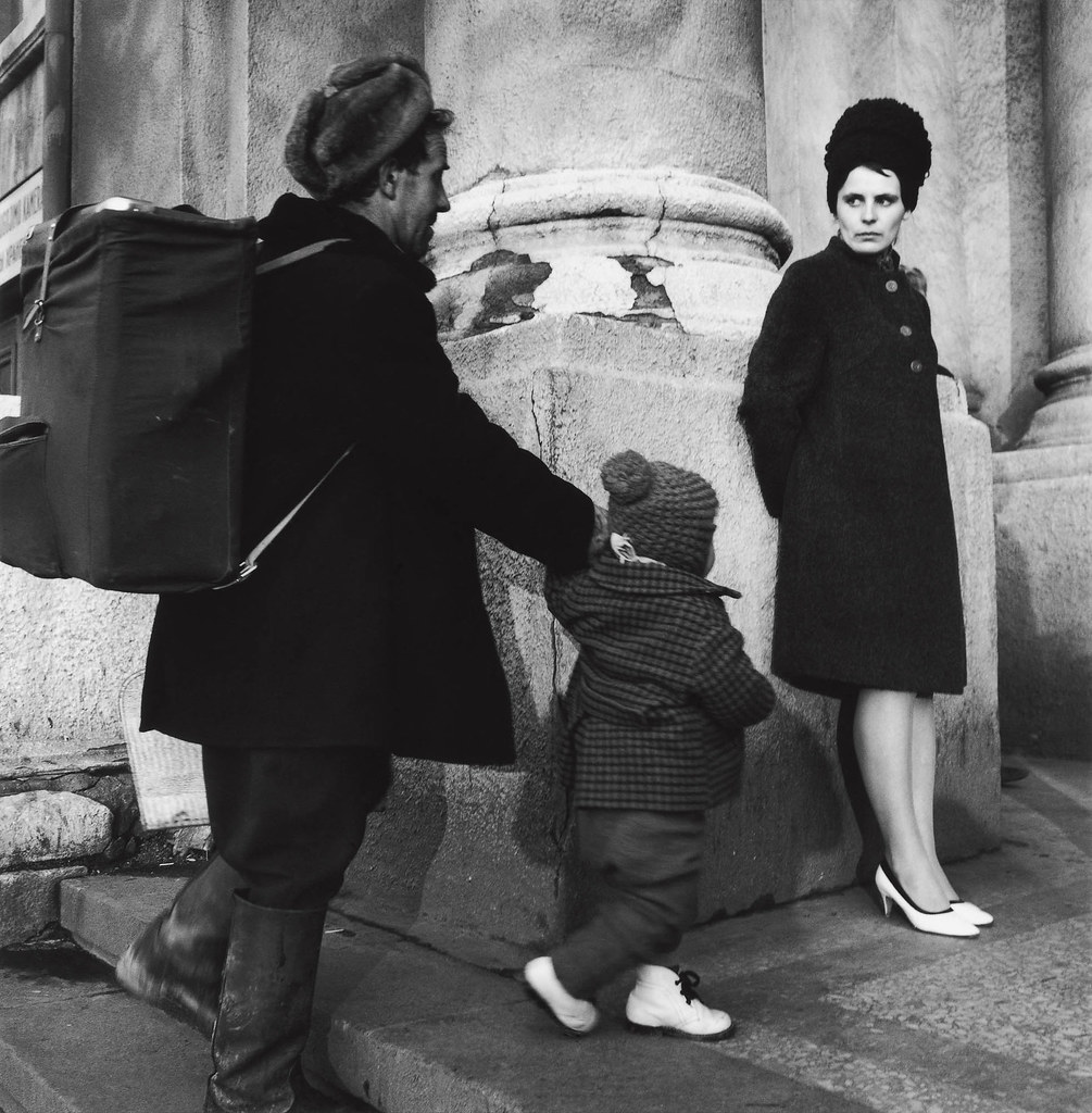 1964. Вильнюс. На вокзале