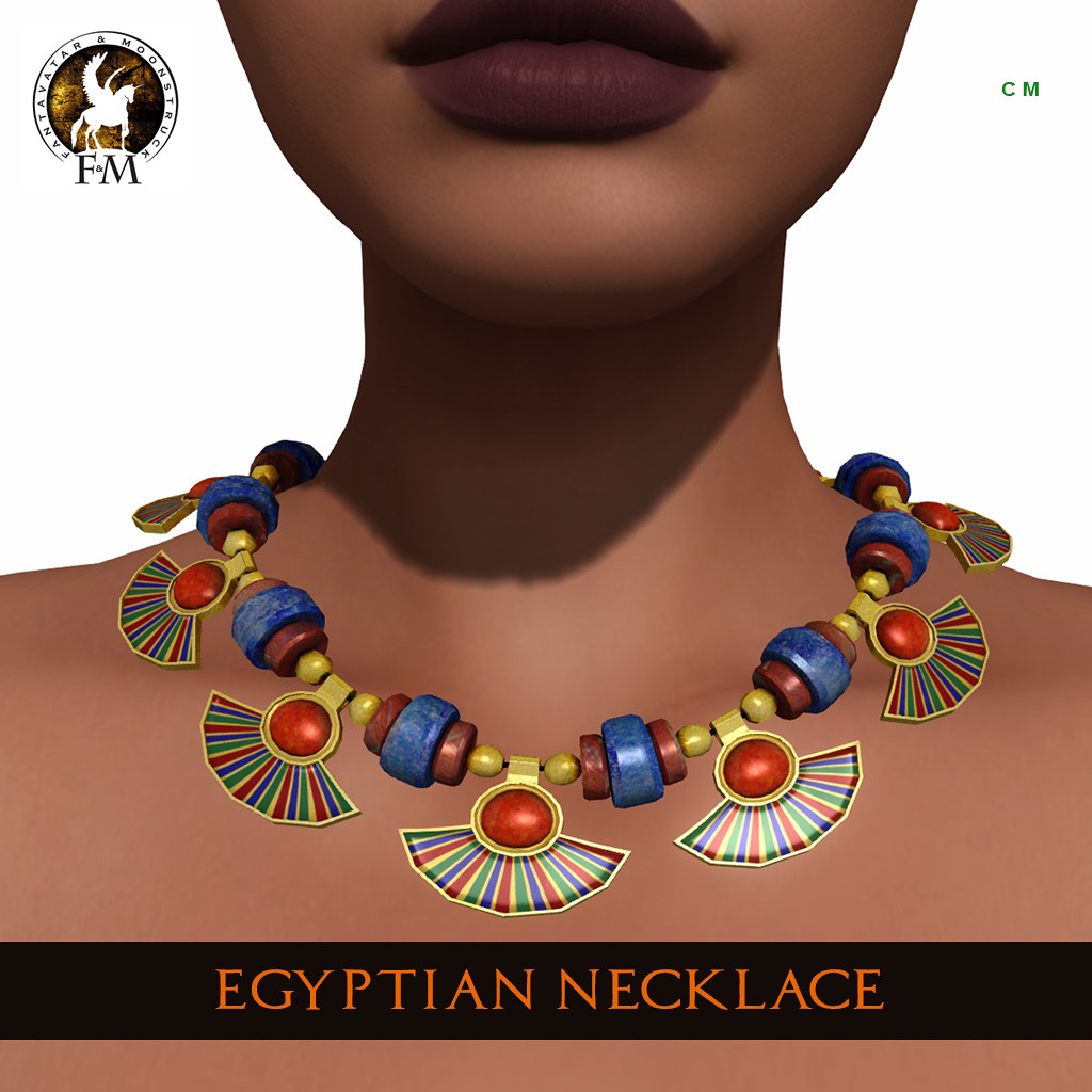 F&M * Egyptian Necklace – Hunt Gift