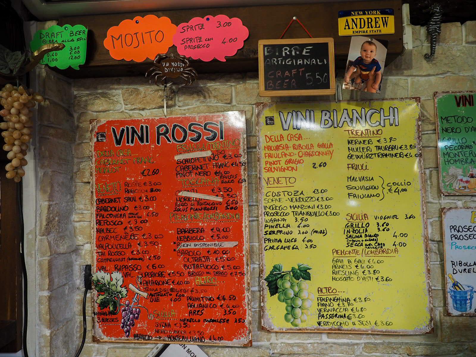 Un mondo di vino Venezia