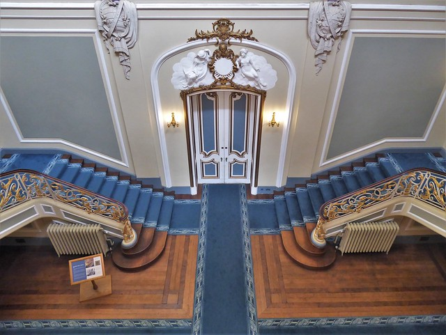 Staircase Hall, Wrest Park, Bedfordshire