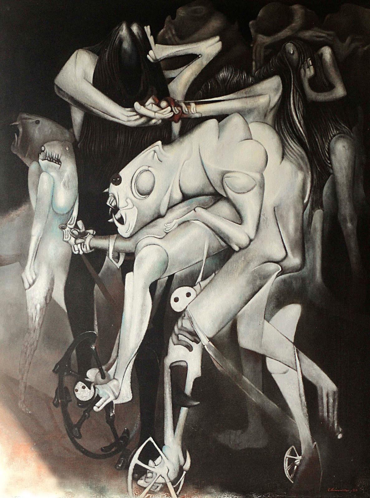 Gerardo Chavez Lopez - Walker in the Dark, 1980