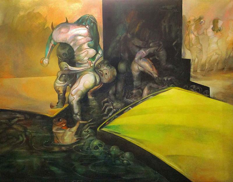 Gerardo Chavez Lopez - The Prey of Water, 1970